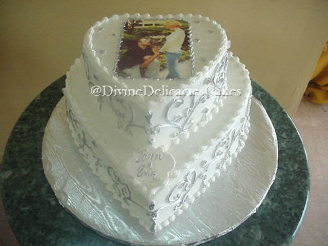 Engagement Cakes Divine Delicacies Custom Cakes
